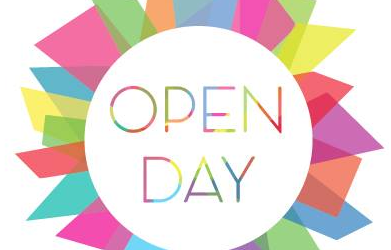 OPEN DAY Domenica 25 Novembre 2018